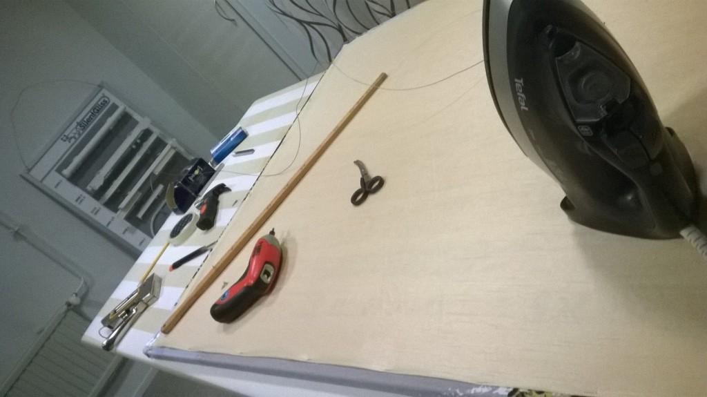 Työvälineitä akustiikkatauluihin